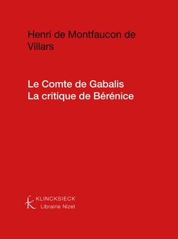 Le Comte de Gabalis. La critique de Bérénice