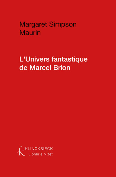 L'Univers fantastique de Marcel Brion