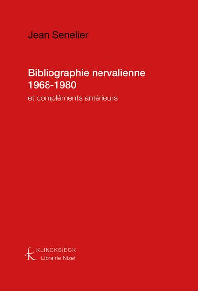 Bibliographie nervalienne 1968-1980