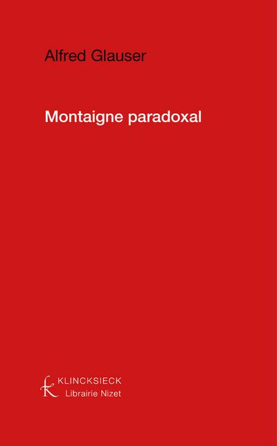 Montaigne paradoxal