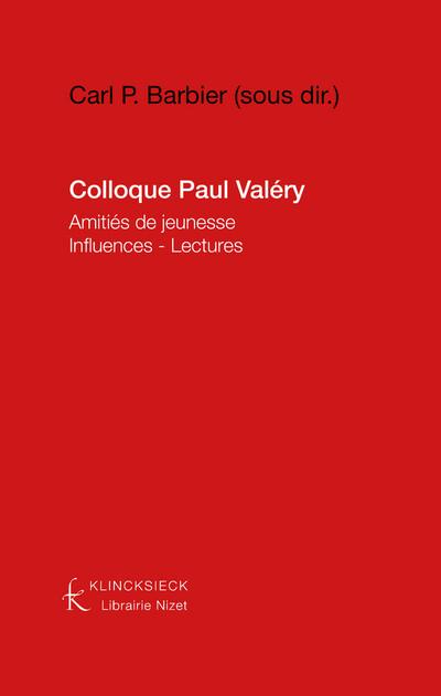 Colloque Paul Valéry