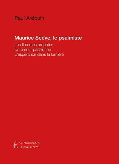 Maurice Scève le psalmiste