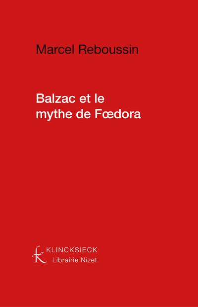 Balzac et le Mythe de Fœdora