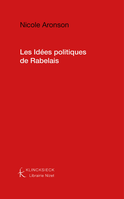 Les Idées politiques de Rabelais
