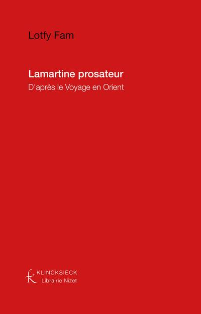 Lamartine prosateur