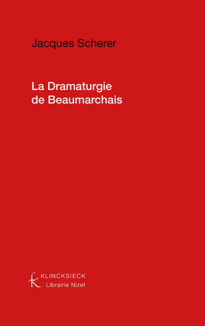 La Dramaturgie de Beaumarchais
